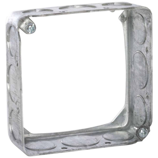 Raco Drawn 4 In. x 4 In. Square Box Extension