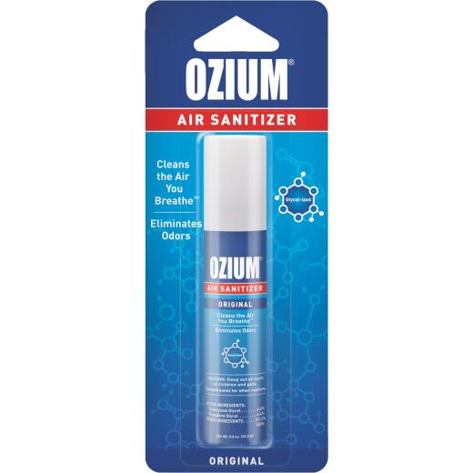 Ozium 0.8 Oz. Car Air Freshener/Sanitizer Spray, Original Scent