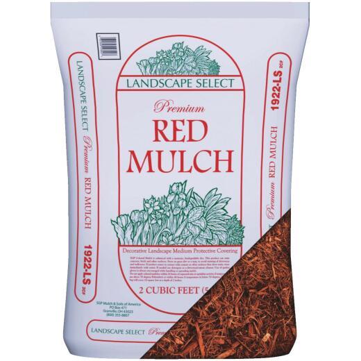 Landscape Select 2 Cu. Ft. Red Shredded Hardwood Mulch