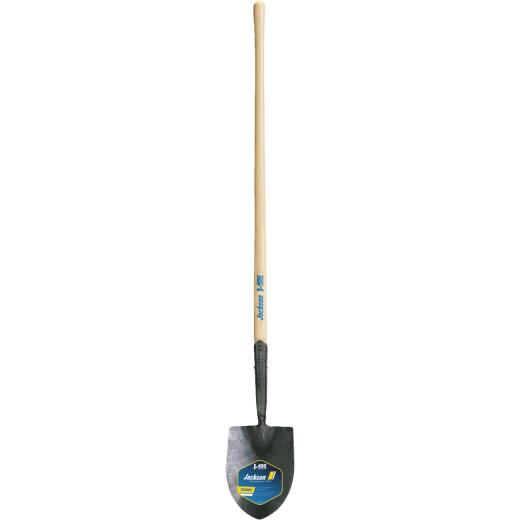 Jackson Pony J-450 Series 47 In. Wood Handle #00 Round Point Irrigation Shovel