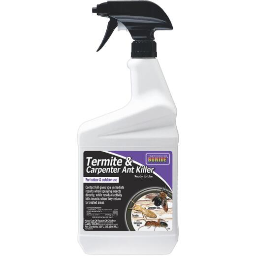 Bonide 32 Oz. Ready To Use Trigger Spray Indoor/Outdoor Termite & Carpenter Ant Killer