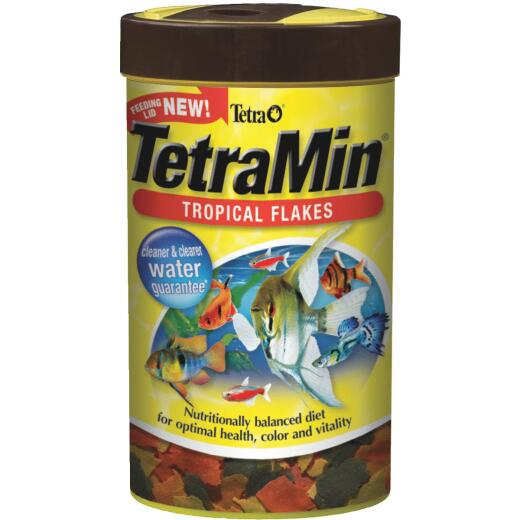 TetraMin 1 Oz. Tropical Fish Flakes Fish Food